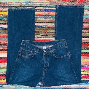 Lucky Brand Dungarees by Gene Montesano size 8/29